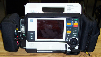 Mid 2000's-current - Physio-Control Lifepak 12 EKG Monitor/Defibrillator/Pacer