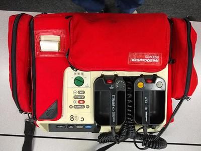 Late 1990's-mid 2000's - Physio-Control Lifepak 10 EKG Monitor/Defibrillator/Pacer