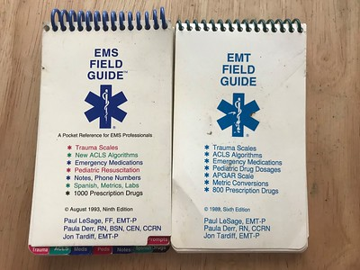 Mid 80's - late 2000's EMS Field Guides