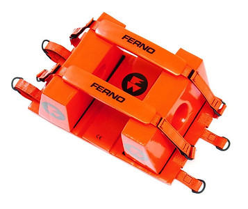 Late 1980's-late 2000's - Ferno none-disposible head immobilization blocks for use with long backboards.
