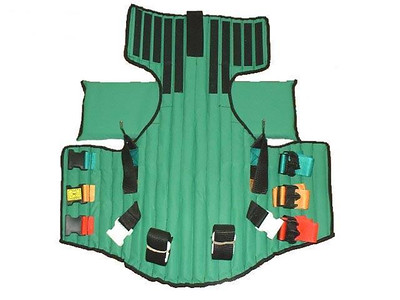 Late 1980's-current - Kendricks Extrication Device (KED) for spinal immoblization of seated patients.