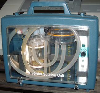 Late 1980's-late 2000's - Laerdal Rechargable Portable Suction Unit