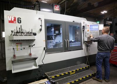 Haas CNC Machining Center