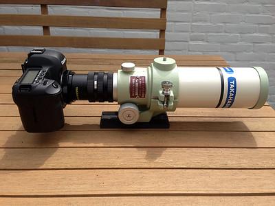 Takahashi FS-60Q, Canon EOS 5D MKII