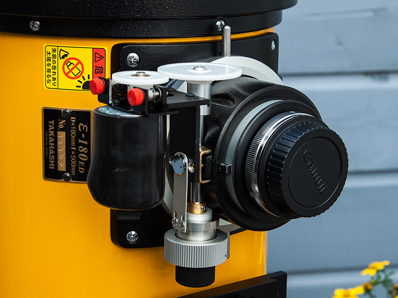 Takahashi Epsilon-180ED, Rigel System motor focuser