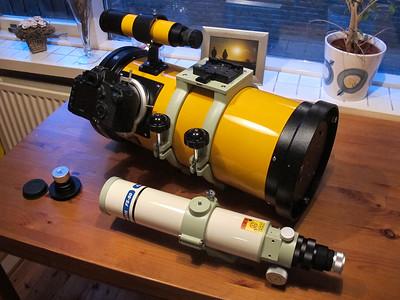 Takahashi Epsilon-180ED, Takahashi FS-60Q, Canon EOS 5D MKII