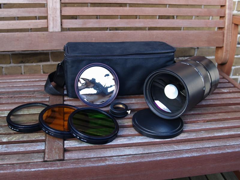 MC MTO-11CA F = 1000 mm f/10 mirror lens