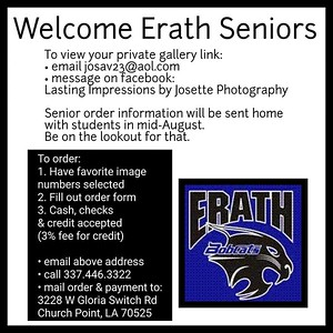Erath High Seniors 2020