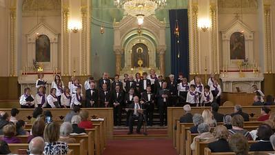 Erevan Choral Society Concert, April 17, 2016