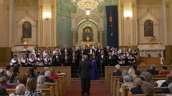 Guest Soloist, mezzo-soprano Gohar Manjelikian, with the Erevan Choral Society