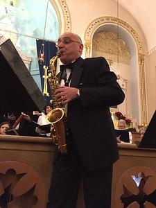 Saxophonist Andrei Sobchenko