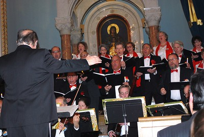 Erevan Choral Society's Christmas Holiday Concert, December 11, 2016