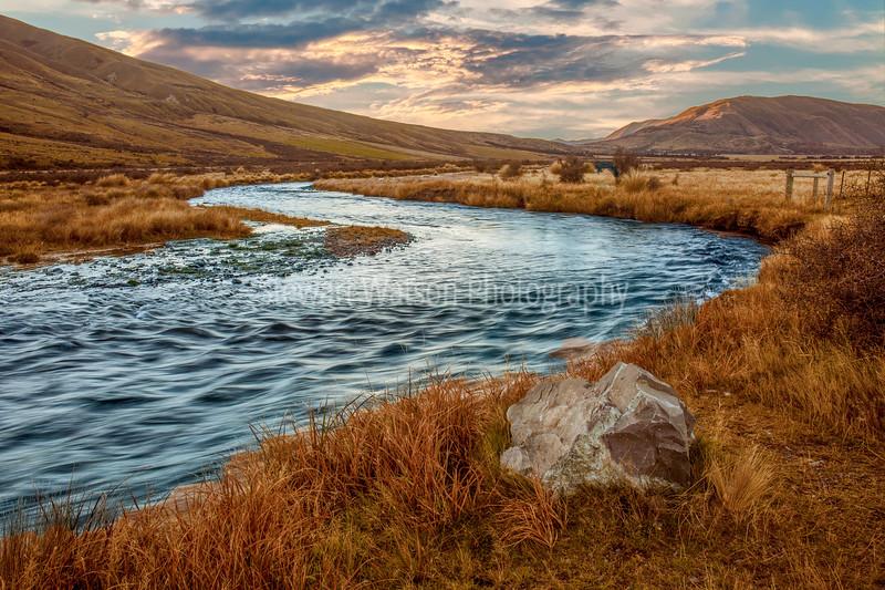 Mount Sunday (Edoras) winding stream
