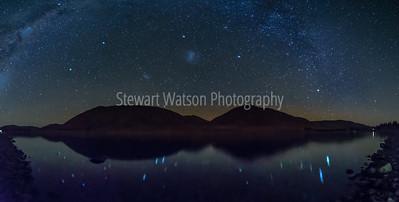 Lake Camp star reflections