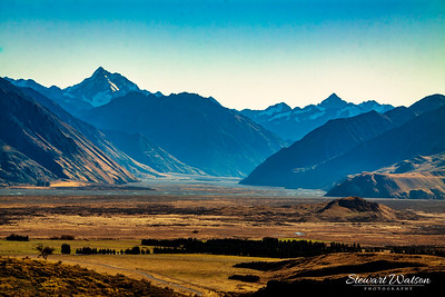 Southern Alps Glacial valley
