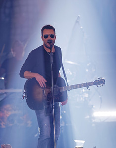 Eric Church live at The Palace of Auburn Hills  on 2-25-2017.  Photo credit: Ken Settle