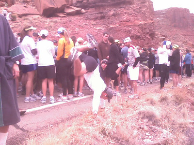 Eric Dalling - Start Line, Canyonlands Half Marathon, Moab, Utah