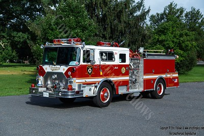 Hamden (Dunbar Hill), Connecticut - Former Engine 8