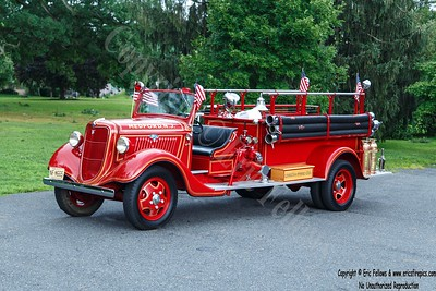Medford (Union Fire Co), New Jersey - Antique