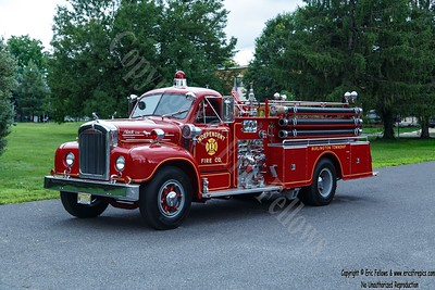 Burlington Township (Independent Fire Co), New Jersey - Former Engine 3011