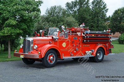 Burlington (Niagara Hose Co), New Jersey - Former Engine 6