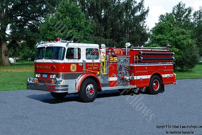 Pine Hill, New Jersey - Engine 6221