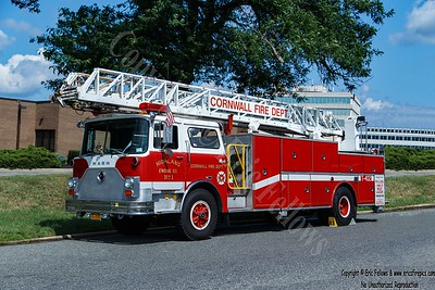 Cornwall (Highland Engine Co #1), New York - Former Truck 402