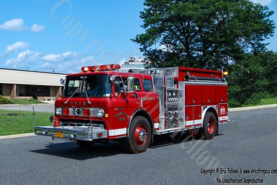 Pleasant Valley, New York - Former Engine 56-14
