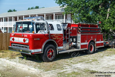 Pleasantdale, New York - Former Engine 266