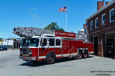 Quincy, Massachusetts - Ladder 1