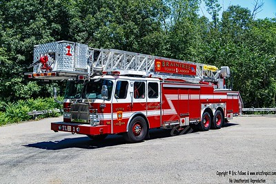 Braintree, Massachusetts - Tower Ladder 1