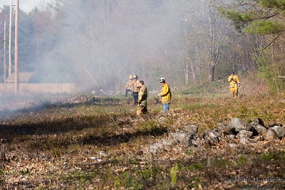 Brush Fire - Chase Rd, Lunenburg, MA - 5/9/2020