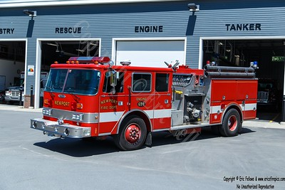 Newport, Maine - Engine 691