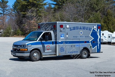 Lebanon, Maine Ambulance 142