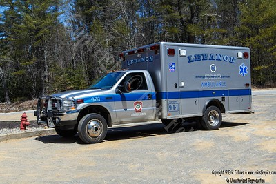 Lebanon, Maine Ambulance 141