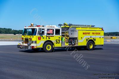 Massport (Hanscom), MA Engine 53 1995 Pierce Arrow