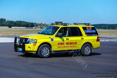 Massport (Hanscom), MA Fire Command 7 2011 Ford Expedition