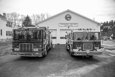 Townsend, Mass Fire-EMS West Station Dedication 12/15/2018
