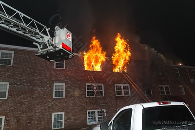 4 Alarm Apartment Fire - Townsend, MA - 2/4/19