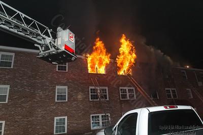 4 Alarm Apartment Fire - Townsend, MA - 2/4/19