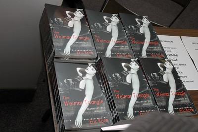 Eric Koch book launches + anniversaries