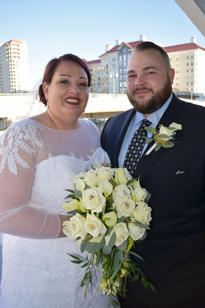 Beautiful wedding at Yacht StarShip II, Tampa FL