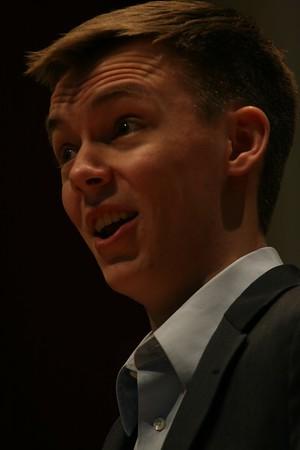 Eric Newell:  Bass Baritone, Senior Recital