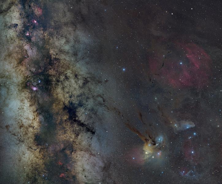 Milky Way Mosaic - 20 panels (6k)