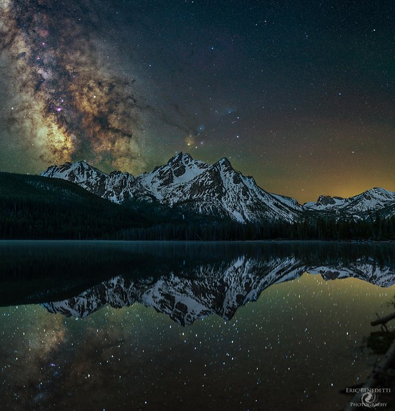 Stanley Lake Reflections
