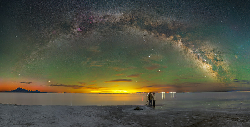 Salt Flats Milky Way Arch