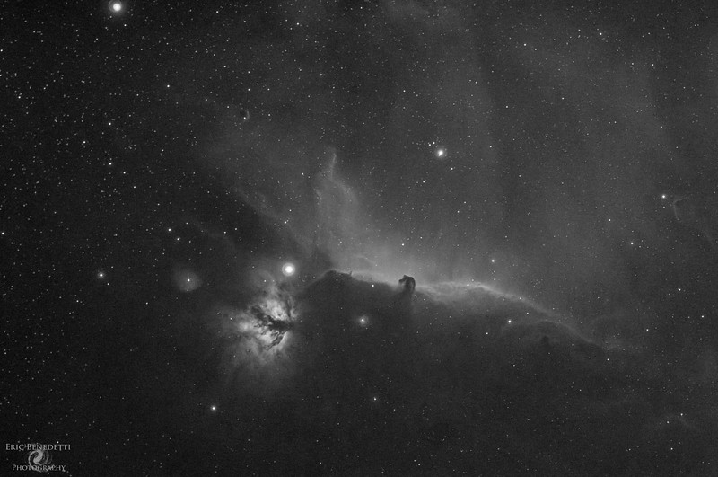 Horsehead and Flame H-alpha