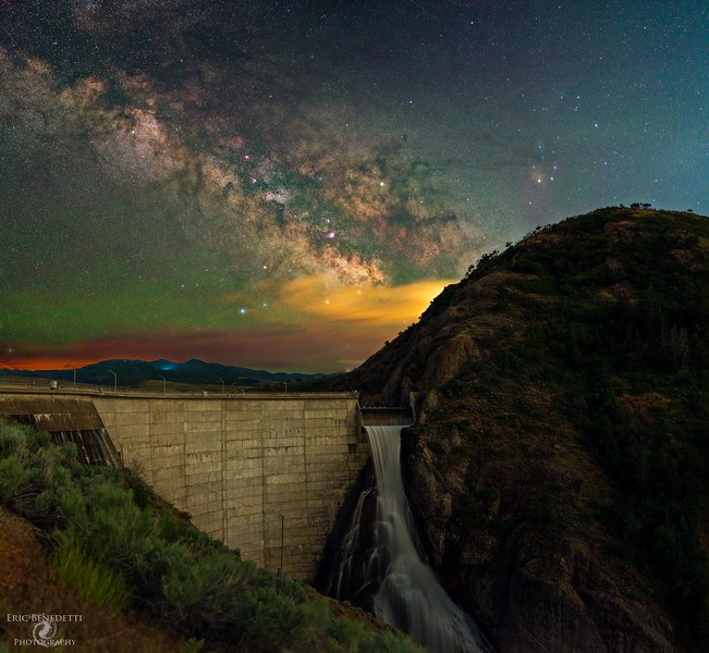 Dam Beautiful Milky Way