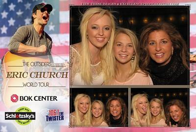 Eric Church BOK November 1st, 2014