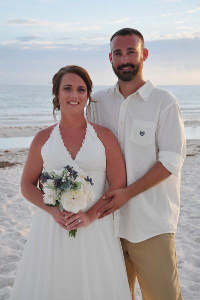 Beautiful intimate wedding at Anna Maria Island, FL